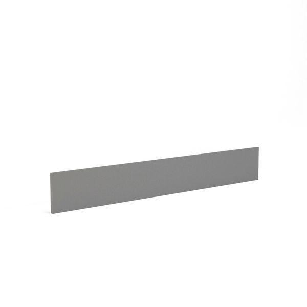Wolseley Own Brand Nabis Vision plinth 1300 x 175mm Grey Gloss