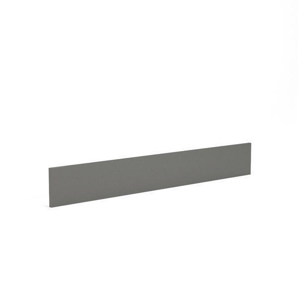 Wolseley Own Brand Nabis Grace plinth 2600 x 175mm Charcoal Grey Gloss