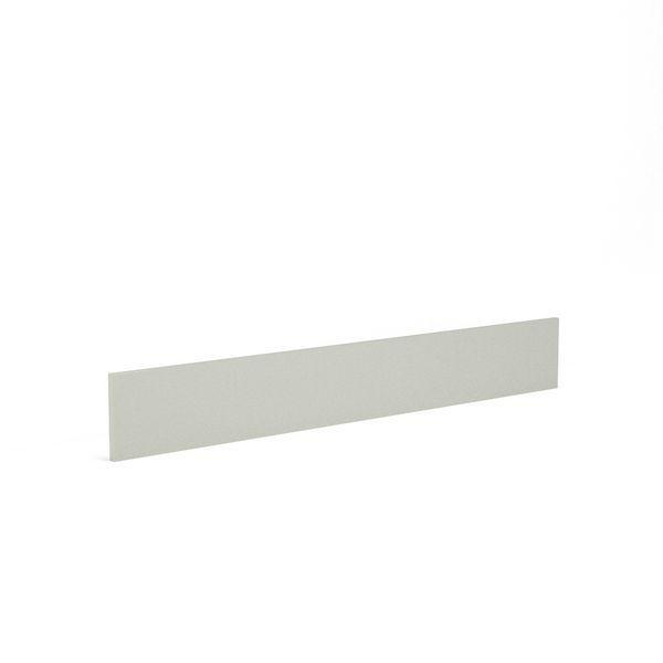 Wolseley Own Brand Nabis Grace plinth 2600 x 175mm Silver Grey Gloss