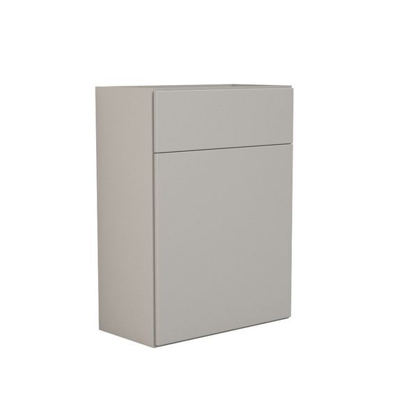 Nabis carcass for reduced back-to-wall toilet unit 600mm Cashmere