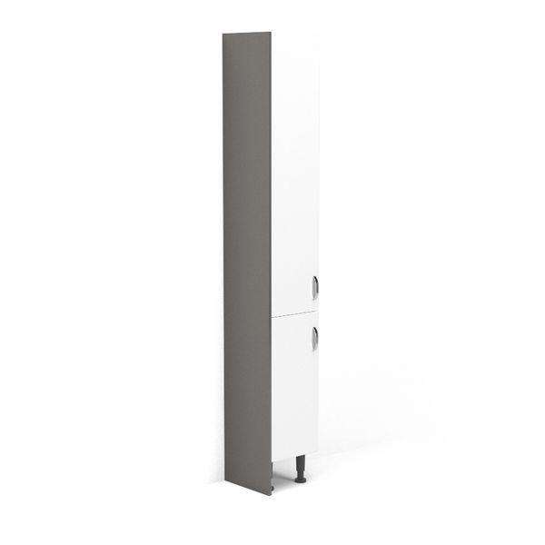 Nabis tall caldding panel 300 x 1971mm Grey Gloss