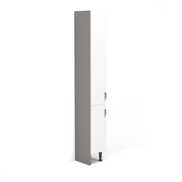 Nabis tall cladding panel 300 x 1971mm Grey Gloss