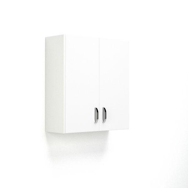 Nabis wall cladding panel 175 x 660mm White Gloss
