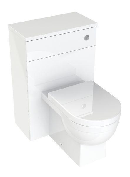 Nabis Sense WC unit 500mm White Gloss