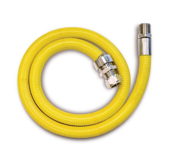Midland Brass HobMate connector hose (BSPT) 1mtr x 1/2