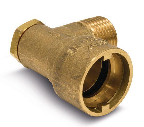 Midbras Midland Brass angled bayonet socket 1/2