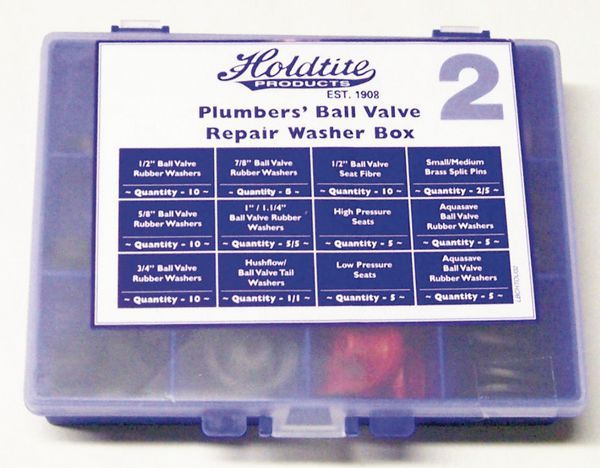Dudley Masefield ball valve repair kit box
