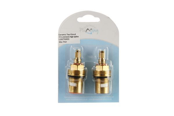 Dudley Masefield L10CTG003 high spline tap valve 7.70mm x 14.50mm (Pair)