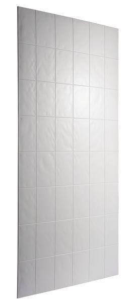 Mira Flight wall panel 1200 x 2010mm White
