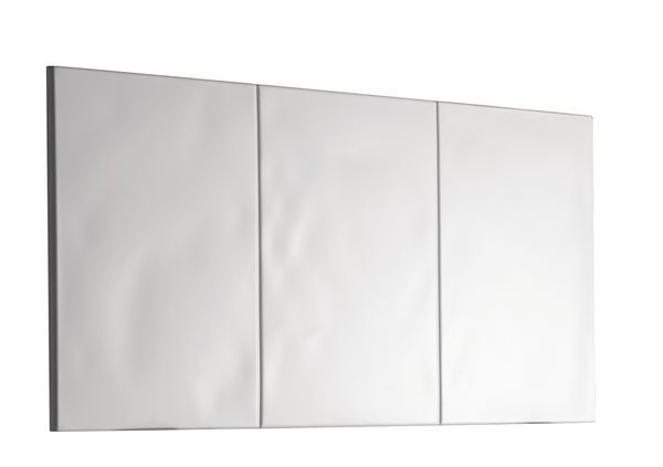 Mira Flight basin splash back panel White