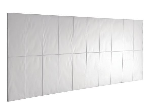 Mira Flight bath splash back panel White