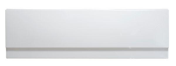 Roca super thick bath front panel 1700mm White