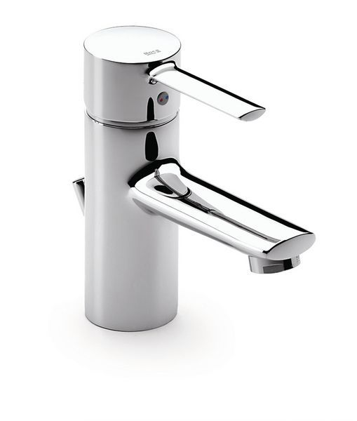 Roca Targa basin mixer tap plus pop up waste Chrome Plated