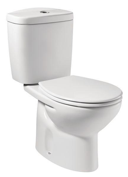 Roca Laura-N close coupled WC pan White