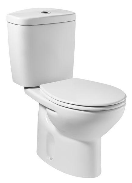 Roca Laura push button cistern 1/2 White