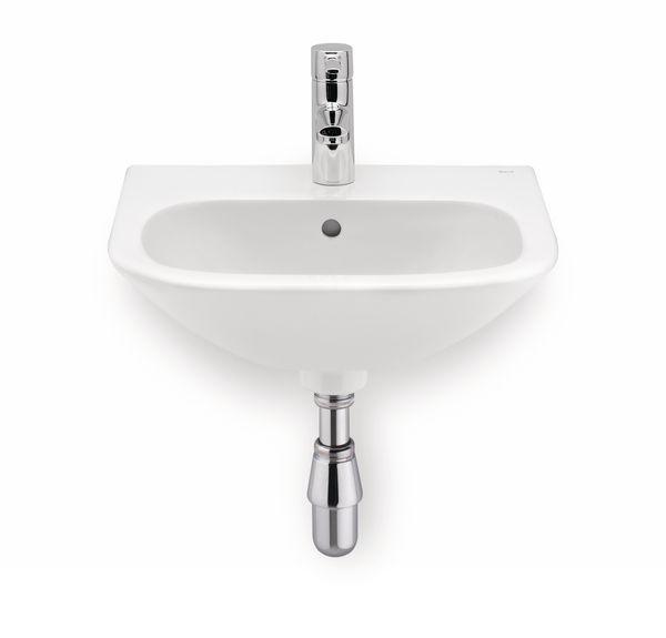 Roca Laura 2 tap hole basin 450mm White