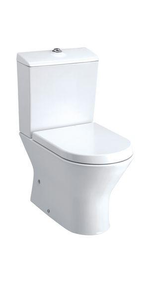 Roca Nexo close coupled toilet pan White
