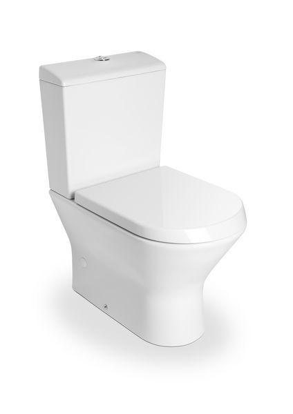 Roca Nexo compact close coupled toilet pan White