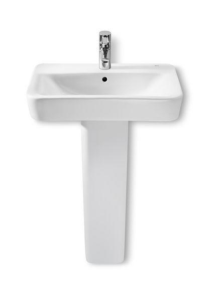 Roca Senso square basin 600mm White