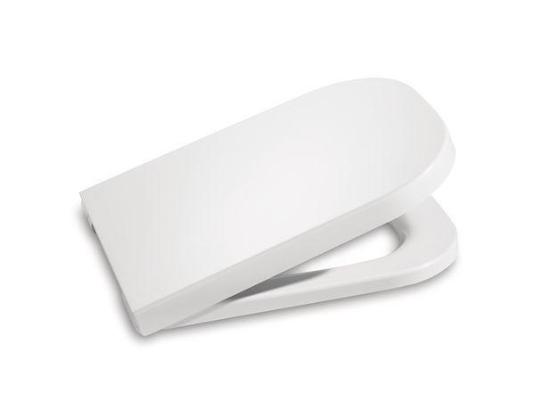 Roca The Gap Soft Close Wc Seat White