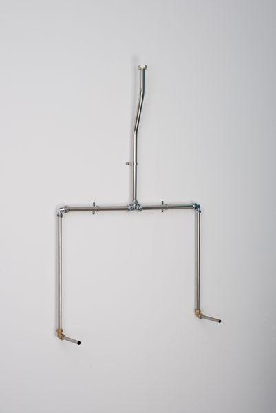 Balmorals Warwick 2 bowl concealed urinal pipe set