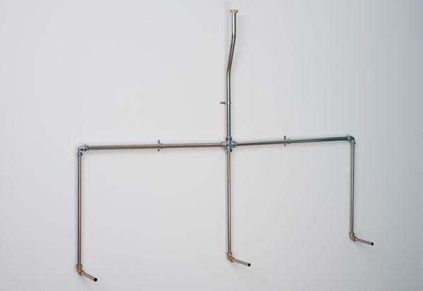 Balmorals Warwick 3 bowl concealed urinal pipe set
