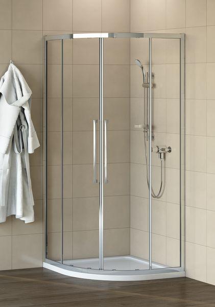 Ideal Standard Kubo quadrant 800mm Silver/Clear