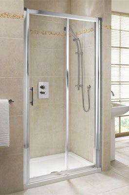 Center Center Brand sliding shower door 1000mm Chrome/Clear