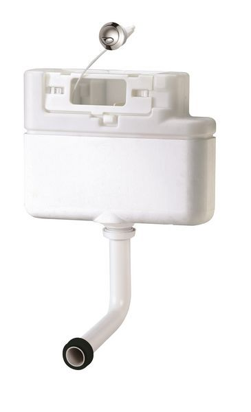 Siamp concealed cistern cable operated dual flush bottom entry