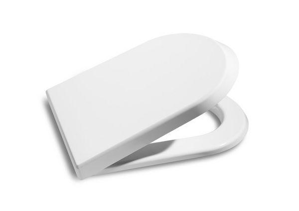 Roca Nexo soft close toilet seat with cover White