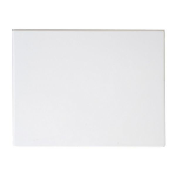 Roca standard reinforced end panel 700mm White