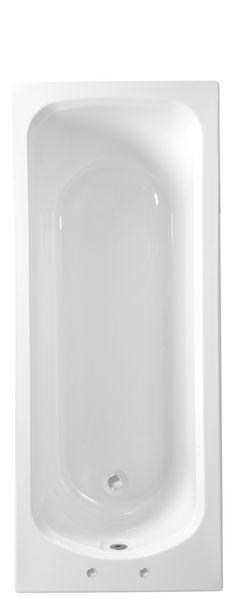 Roca Seville no tap hole bath 1700 x 700mm White