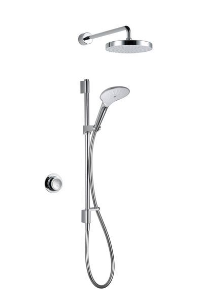 Mira Mode rear fed dual shower (pumped)