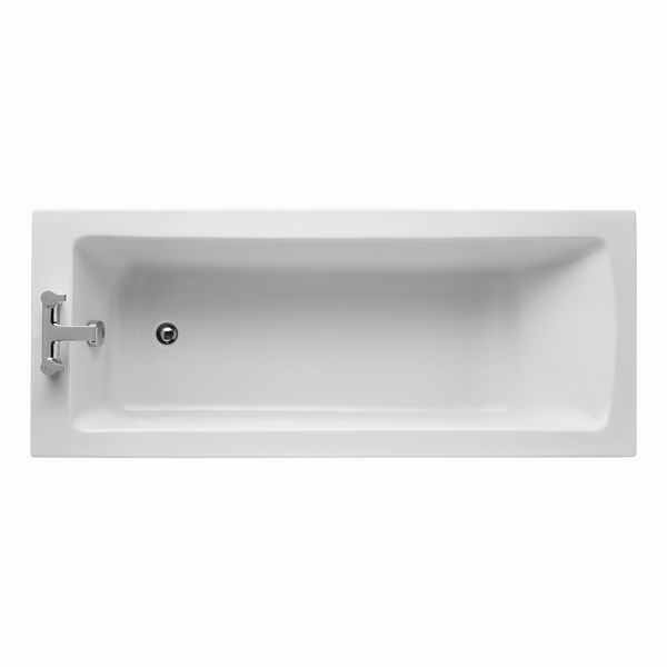 Ideal Standard Tempo Arc two tap hole bath 1700 x 700mm White