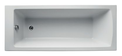 Ideal Standard Tempo Arc no tap hole water saving bath 1700 x 700mm White