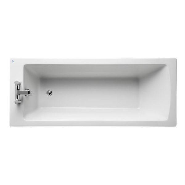 Ideal Standard Tempo Arc idealform plus bath without tapholes and legs 170 x 70cm