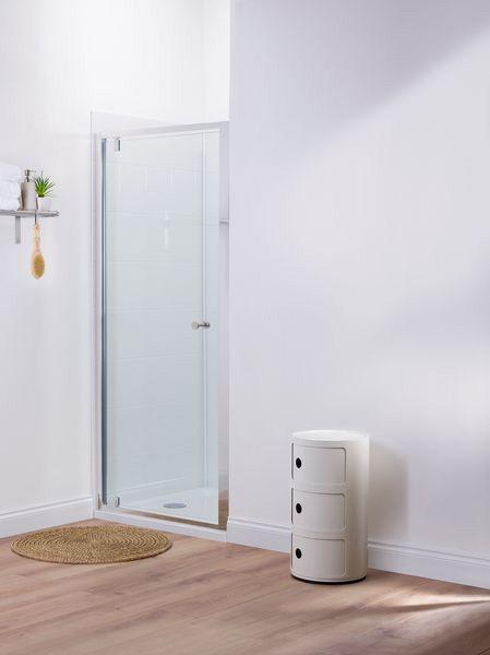 Mira Elevate pivot shower door 760mm