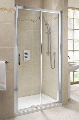 Mira Elevate slider shower door 1400mm