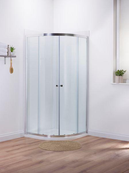 Mira Elevate quadrant shower door 900mm