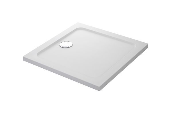Mira Flight Safe low level shower tray no upstands 760 x 760mm