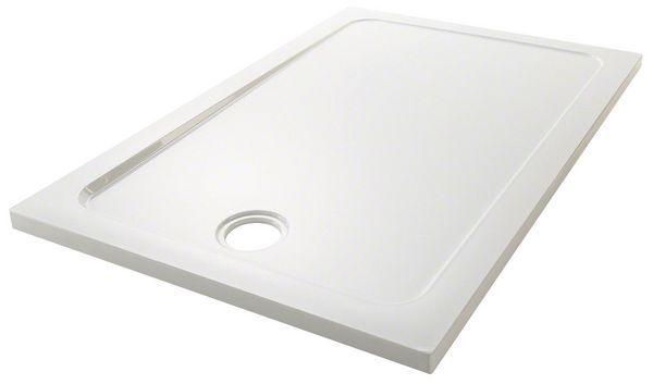 Mira Flight Safe low level shower tray no upstands 800 x 800mm