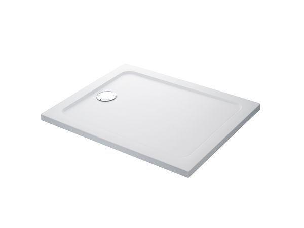 Mira Flight Safe low level shower tray no upstands 900 x 760mm