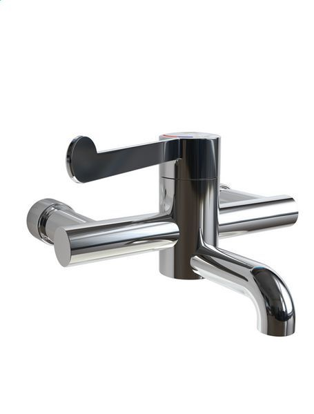 Rada Safetherm wall mounted basin mixer TMV3