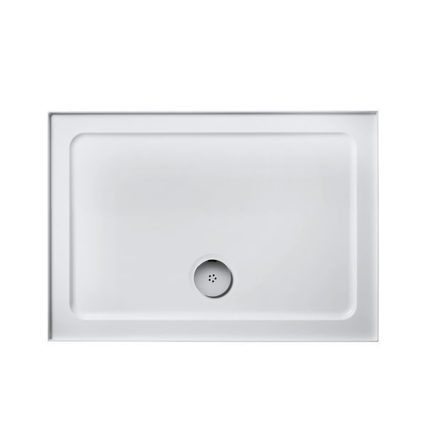 Ideal Standard Simplicity L5075 low profile shower tray 4 upstands 1200 x 760mm