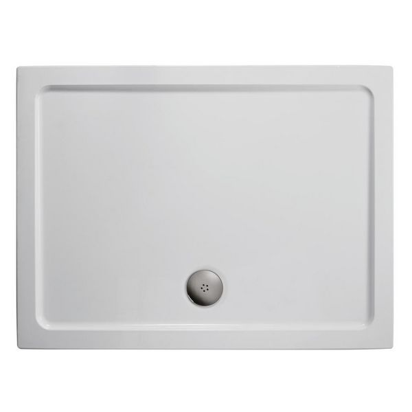 Ideal Standard Simplicity low profile shower tray with 4 upstands 1200 x 800mm