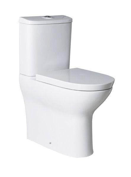 Roca Colina comfort soft close toilet seat White