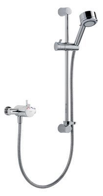 Mira Miniduo E mixer shower Chrome Plated