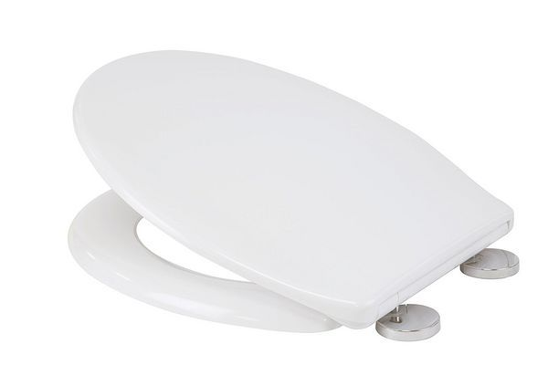 Croydex Constance thermoset flexi-fix toilet seat White