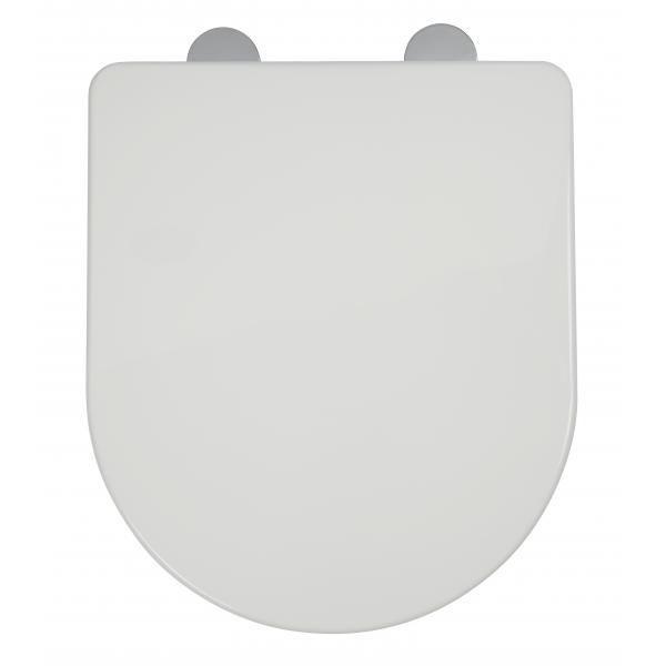 Croydex Eyre thermoset flexi-fix toilet seat White