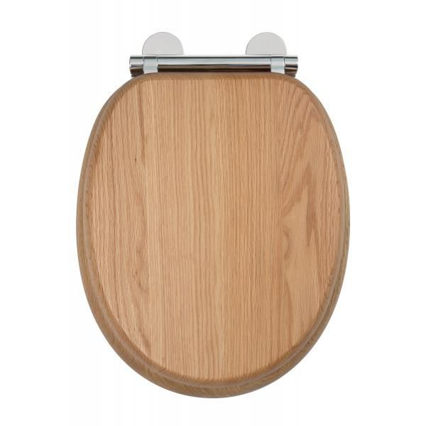 Croydex Ontario moulded wood flexi-fix toilet seat